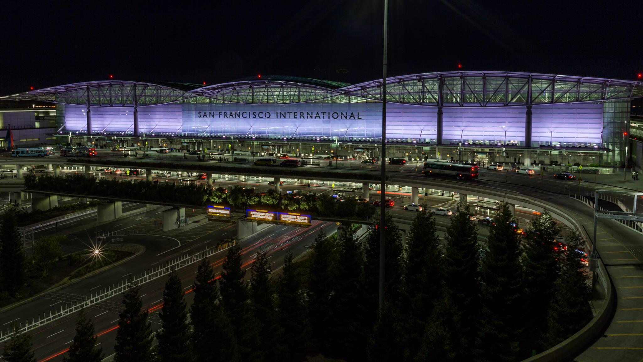 美國.舊金山|舊金山機場轉機 五個步驟美國城市飛透透