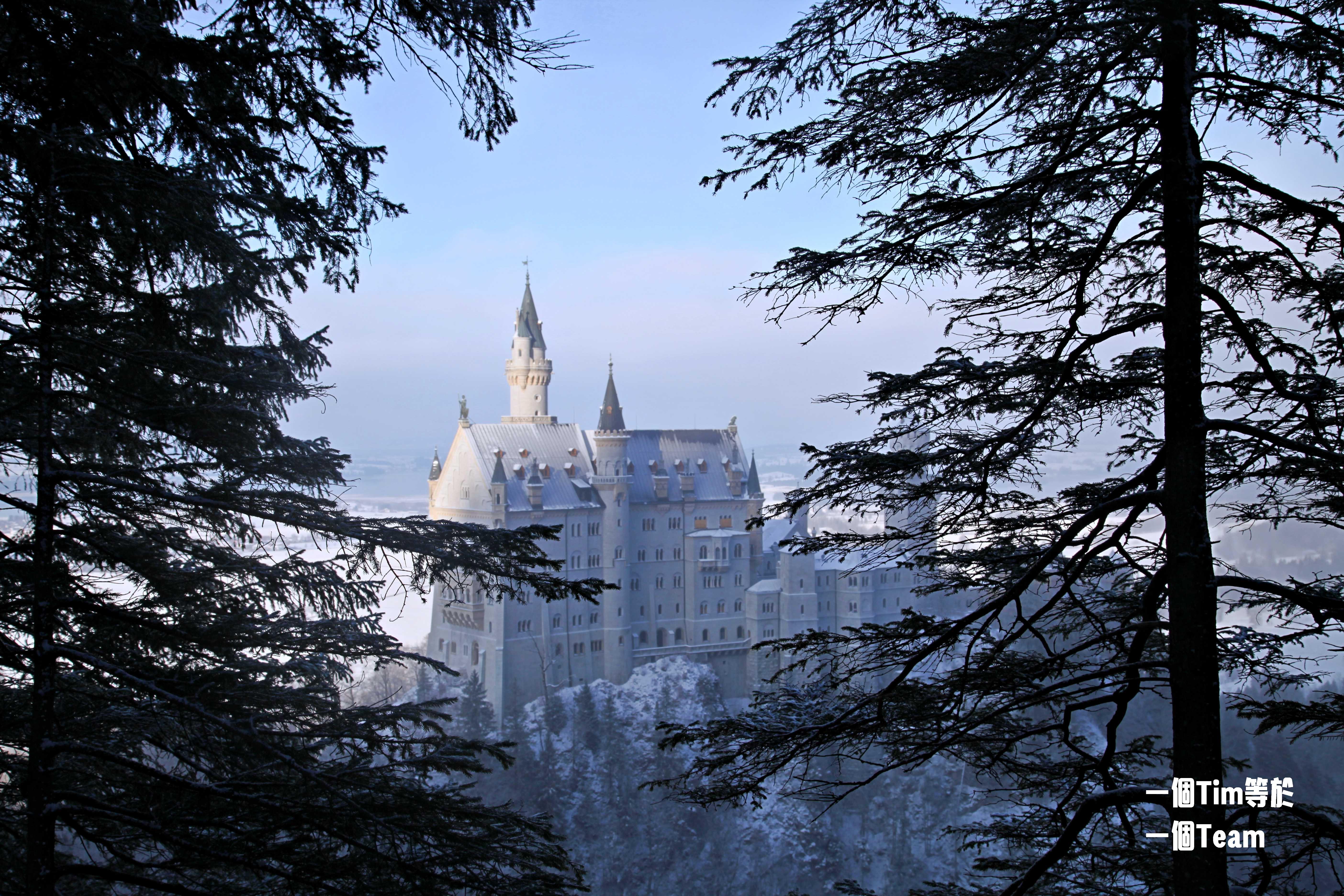 德國.富森|瑪莉安橋封了怎麼辦?新天鵝堡交通、DB邦票、城堡冬季拍照秘密景點